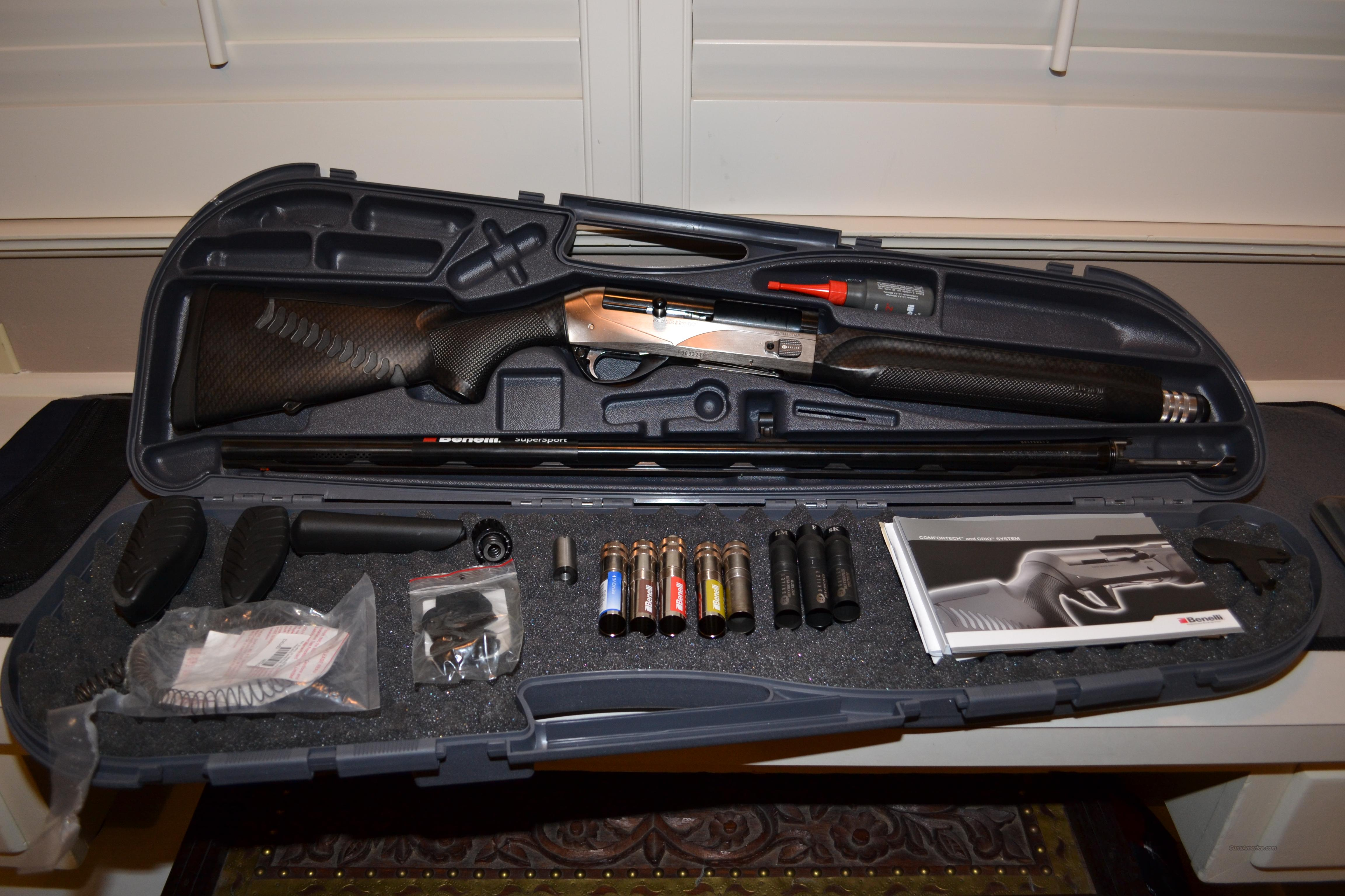 Benelli Supersport 12 Gauge Custom  Guns > Shotguns > Benelli Shotguns > Sporting