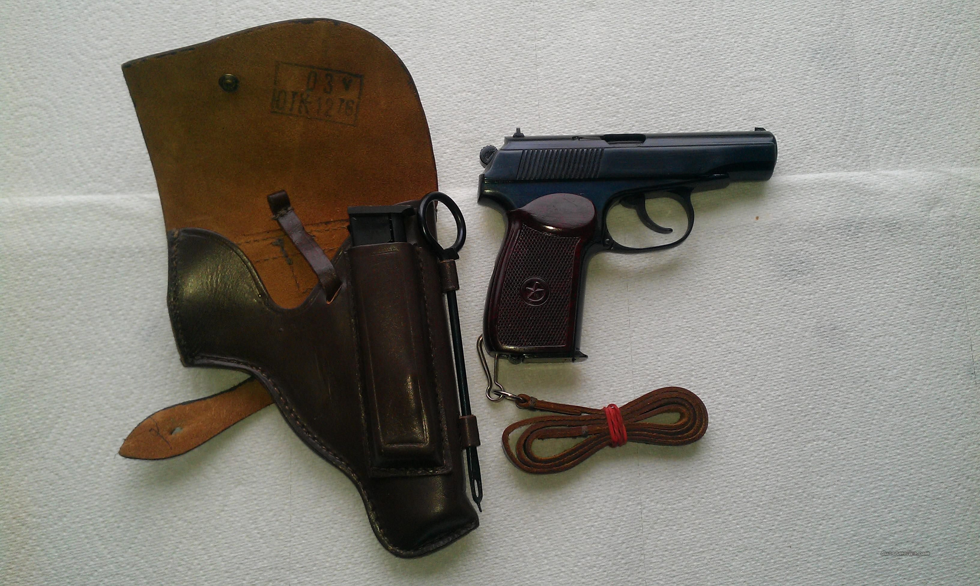 Russian Military Makarov  Guns > Pistols > Military Misc. Pistols Non-US