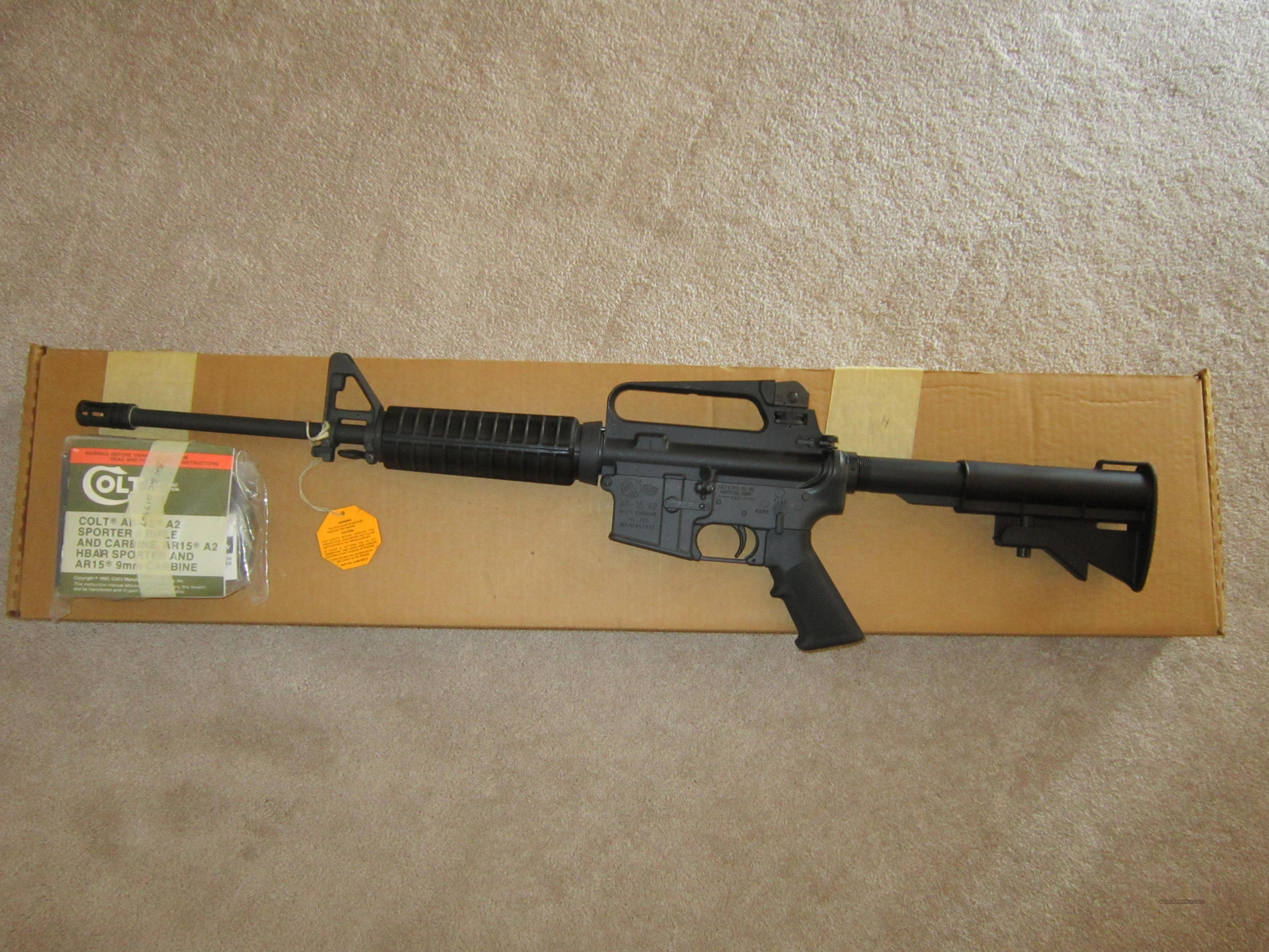 Colt AR-15 A2 CAR Model 6520  Guns > Rifles > Colt Military/Tactical Rifles
