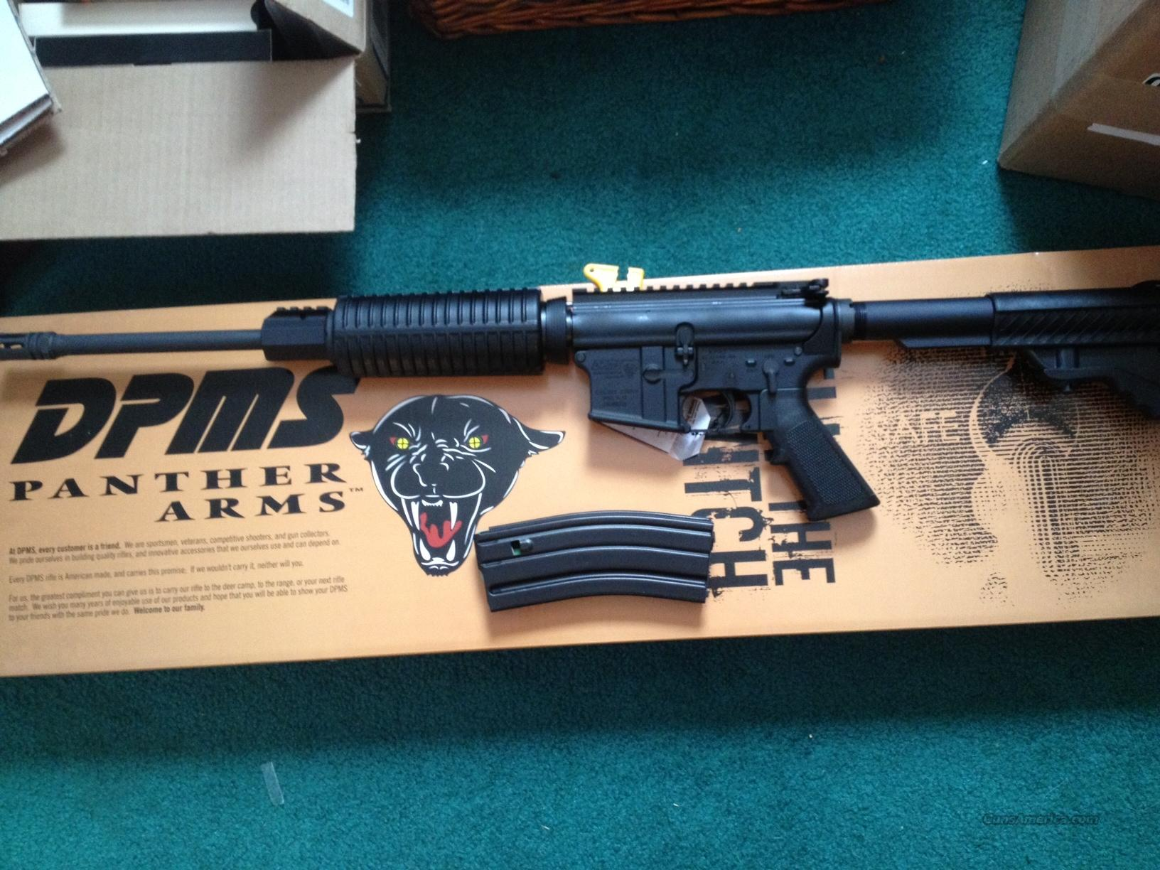 DPMS Panther Arms AR15 Sporticle NIB  Guns > Rifles > DPMS - Panther Arms > Complete Rifle
