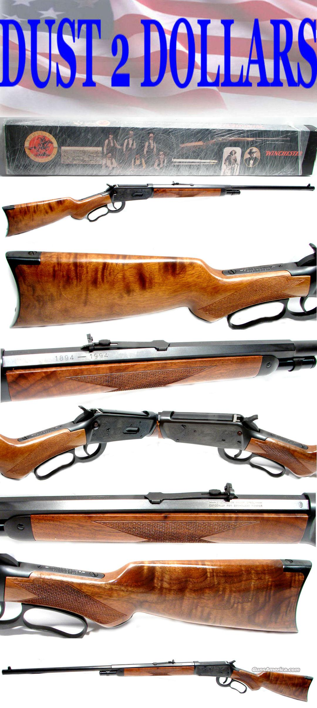 Winchester 94 Centennial Rifle NEVER FIRED In Box  Guns > Rifles > Winchester Rifles - Modern Lever > Model 94 > Post-64