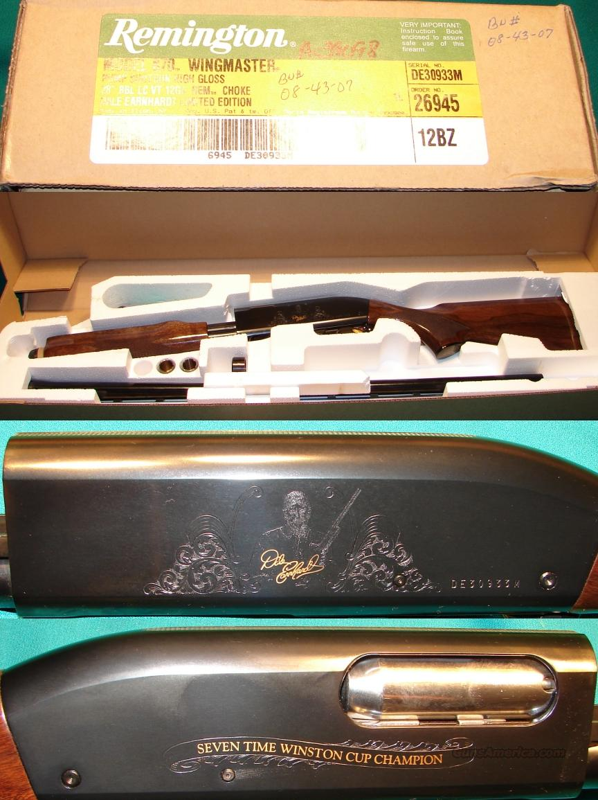Remington 870 DALE EARNHARDT  Guns > Shotguns > Remington Shotguns  > Pump > Hunting