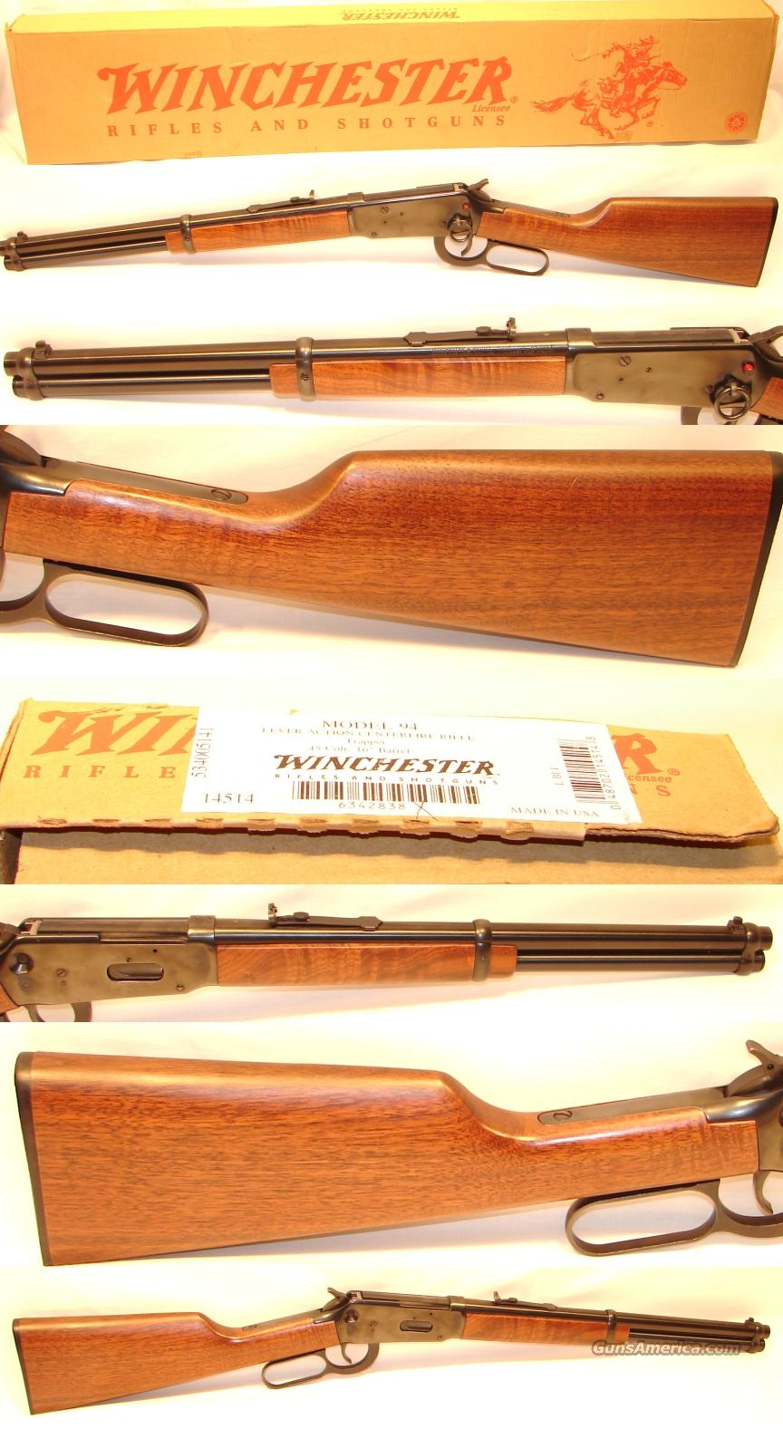 Winchester 94 Saddle Ring Carbine 45 LC  Guns > Rifles > Winchester Rifles - Modern Lever > Model 94 > Post-64