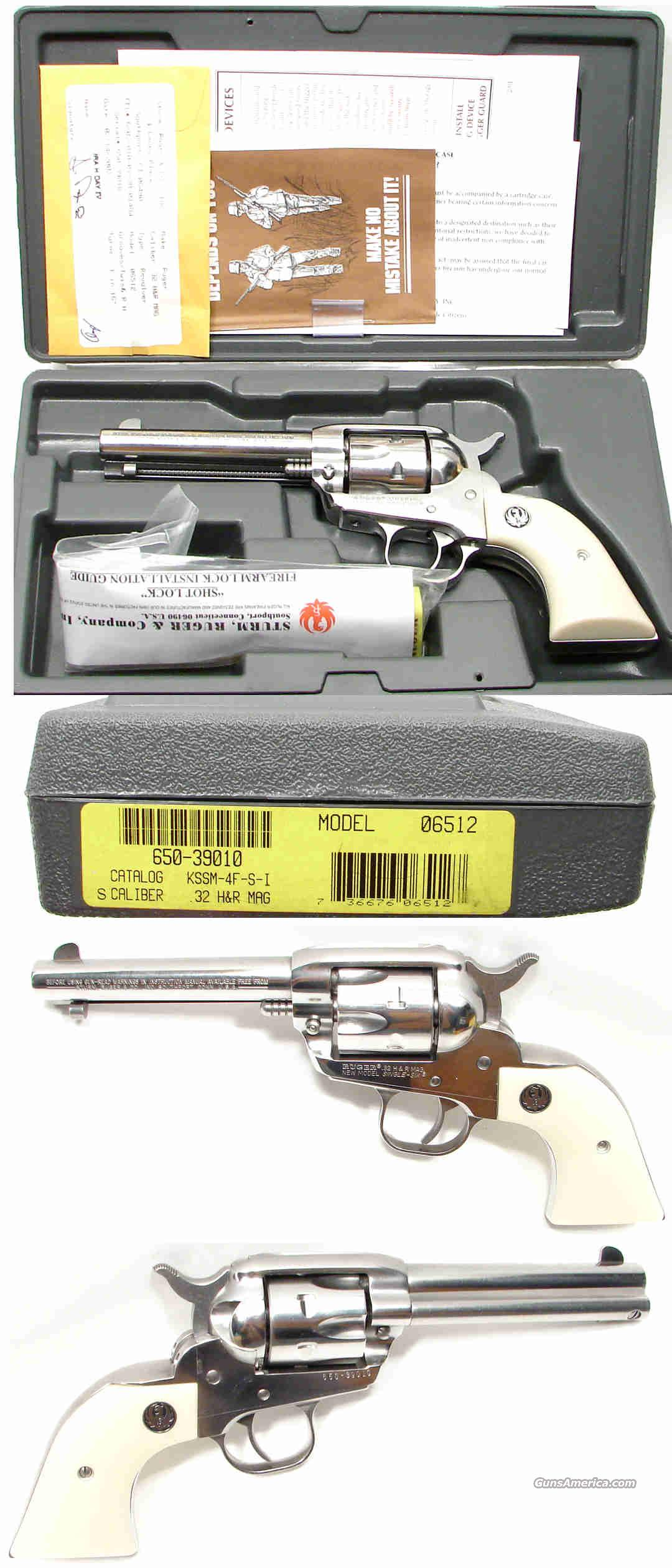 Ruger Single Six 32 H&R Magnum 32 H&R Magnum NIB  Guns > Pistols > Ruger Single Action Revolvers > Single Six Type