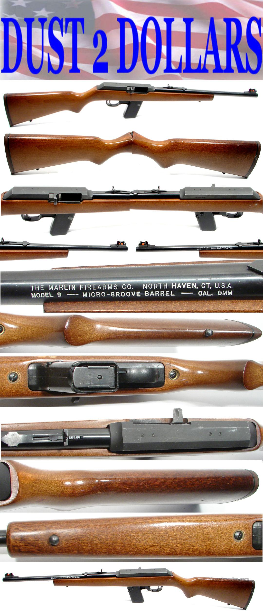 Marlin Model 9 Camp Carbine 9MM Just a Shooter  Guns > Rifles > Marlin Rifles > Modern > Semi-auto