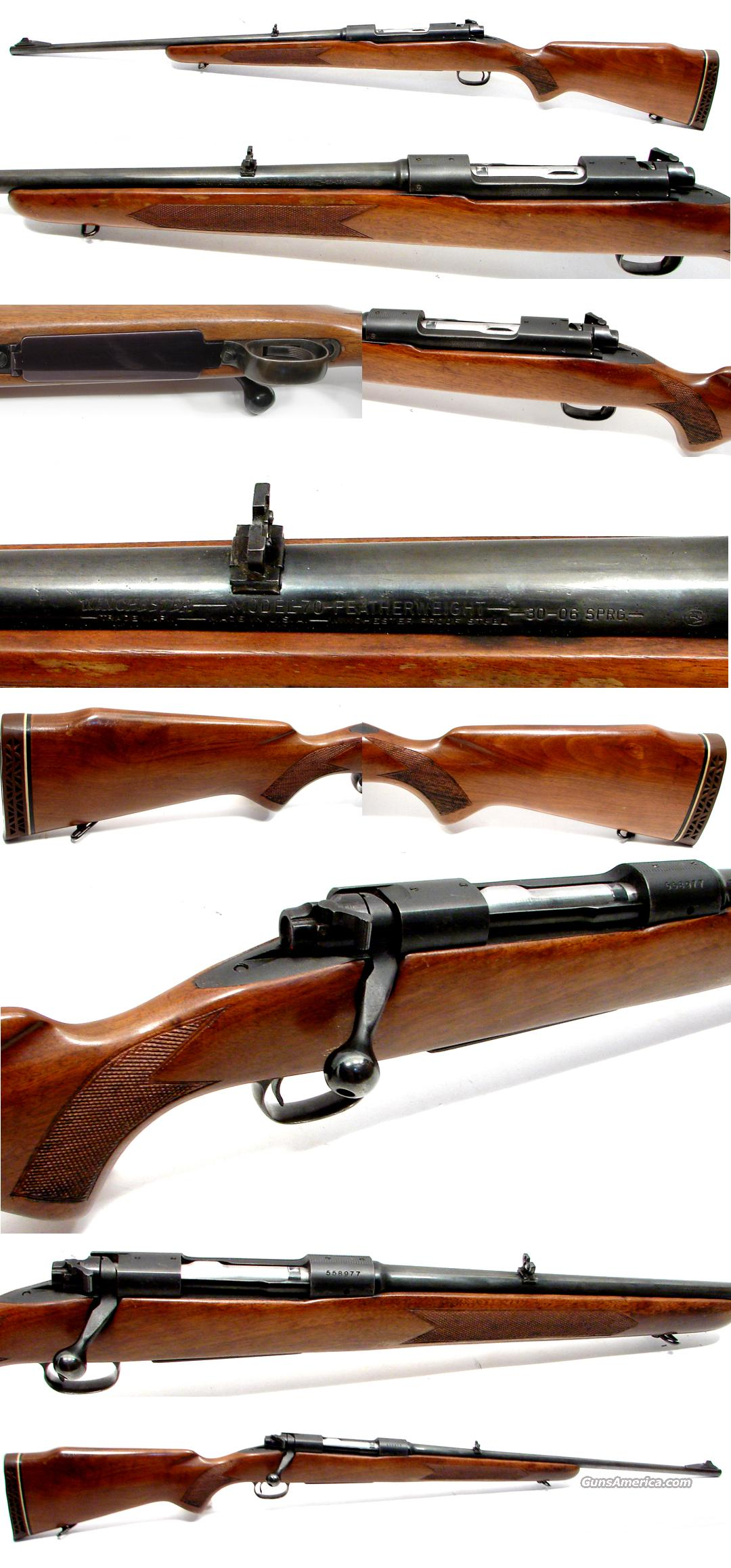 Winchester Pre-64 model 70 Featherweight in 30-06  Guns > Rifles > Winchester Rifles - Modern Bolt/Auto/Single > Model 70 > Pre-64
