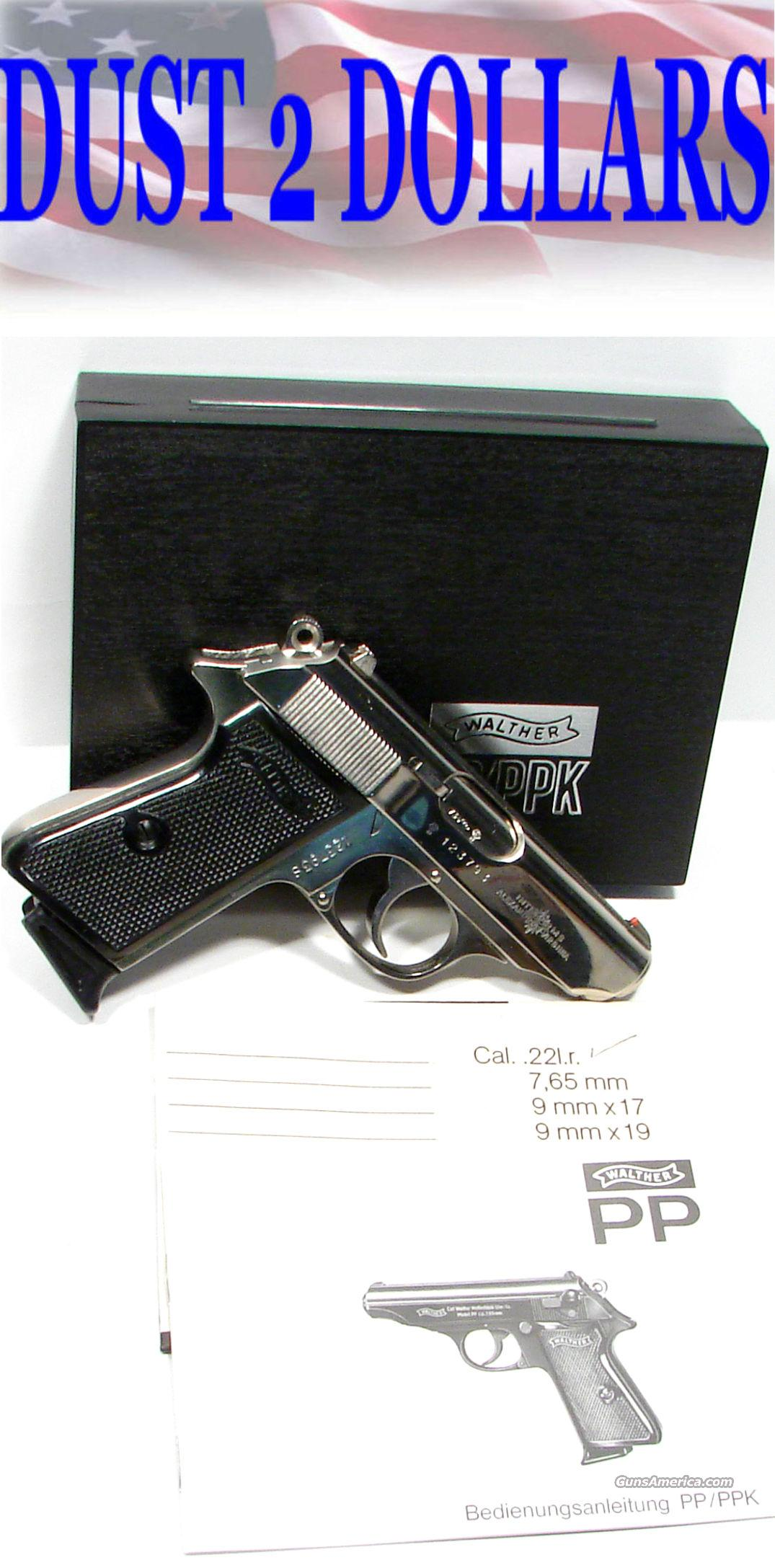 Stainless Walther PPK/S 22 LR Made in West Germany  Guns > Pistols > Walther Pistols > Post WWII > PPK Series