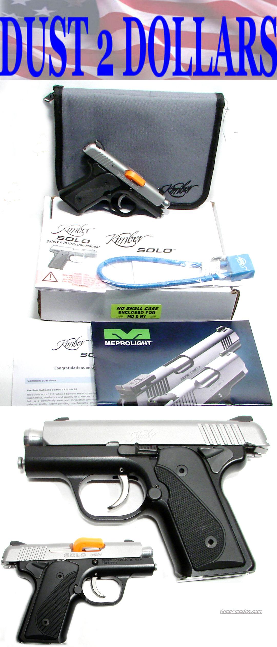 NEW IN THE BOX Kimber Solo 9MM  Guns > Pistols > Kimber of America Pistols