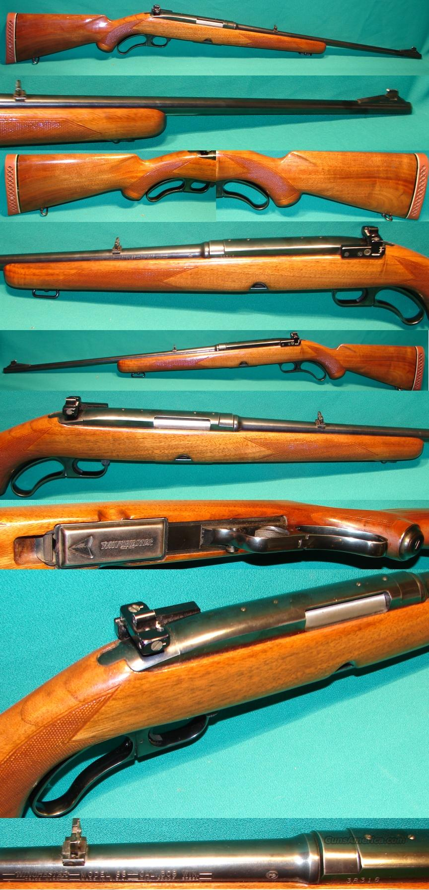 Winchester 88 Pre-64 CT 308 Win  Guns > Rifles > Winchester Rifles - Modern Lever > Other Lever > Pre-64