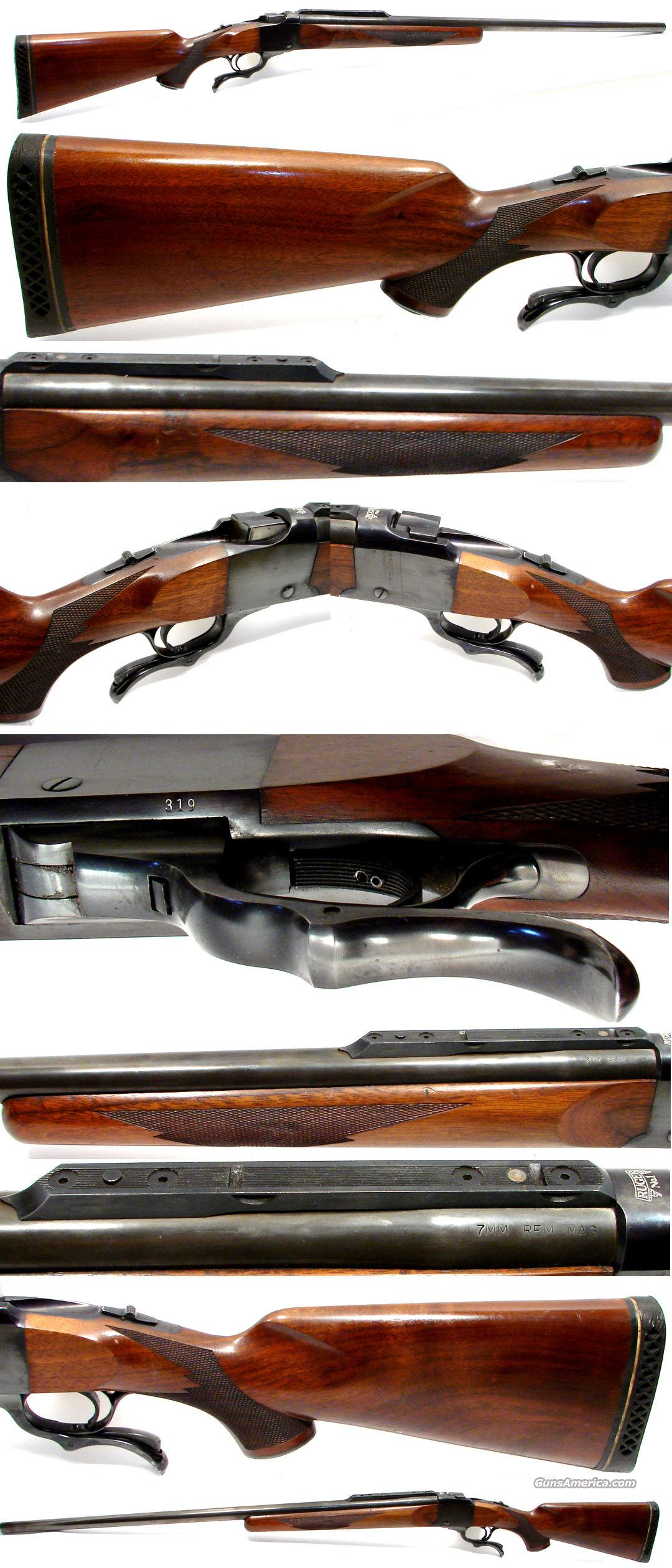 "Ruger No 1 Serial No 319 RARE Low Number 30"" 7MM Rem Mag  Guns > Rifles > Ruger Rifles > #1 Type"