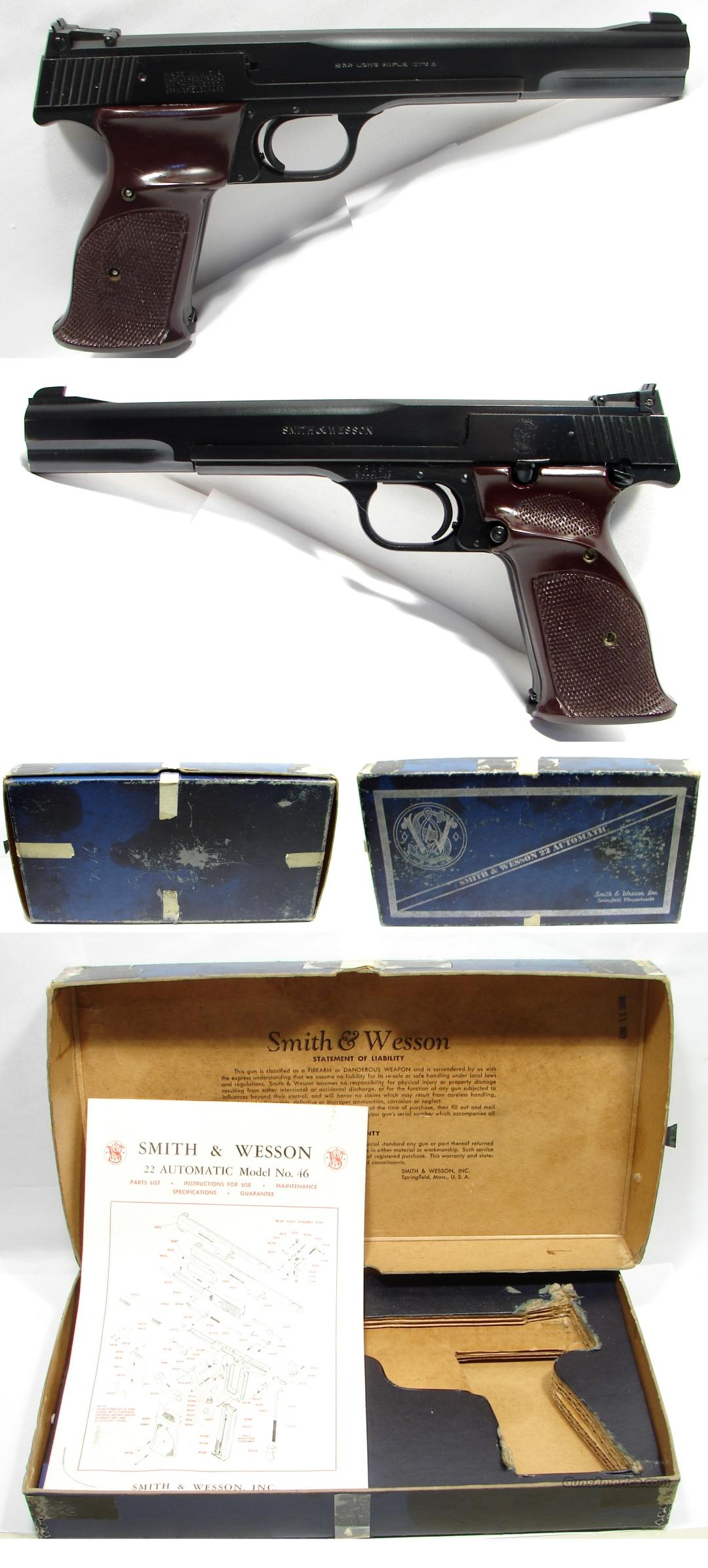 "Smith & Wesson Model 46 - 7"" With Factory Box!!  Guns > Pistols > Smith & Wesson Pistols - Autos > .22 Autos"