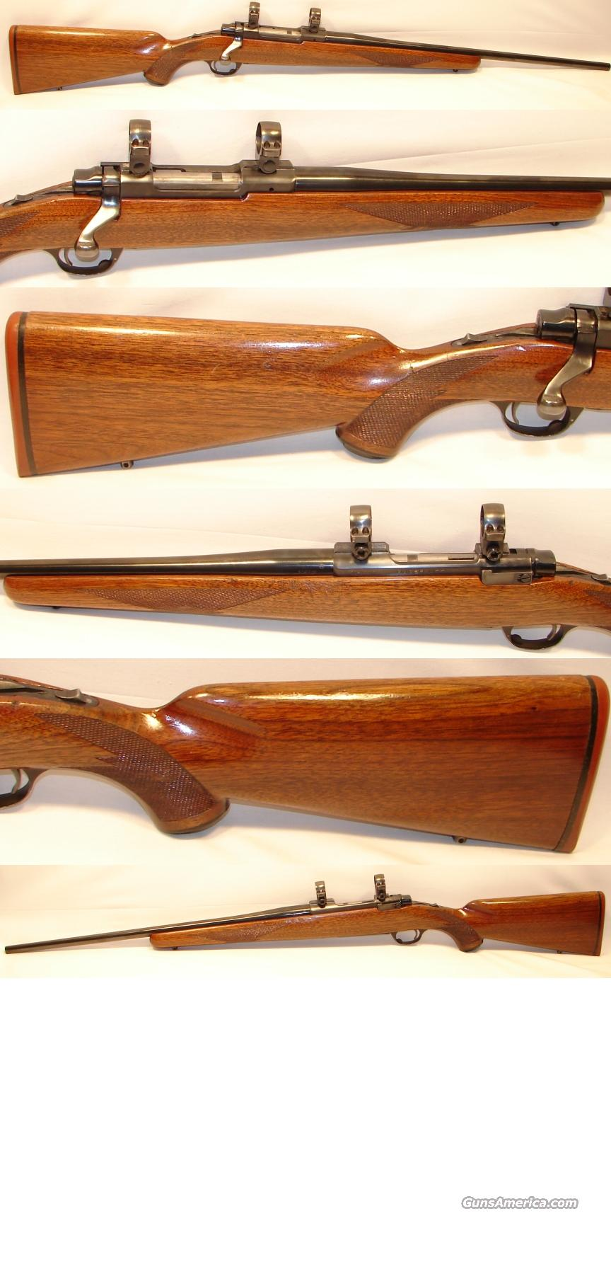 Ruger M77 Flat Bolt 308 Winchester  Guns > Rifles > Ruger Rifles > Model 77