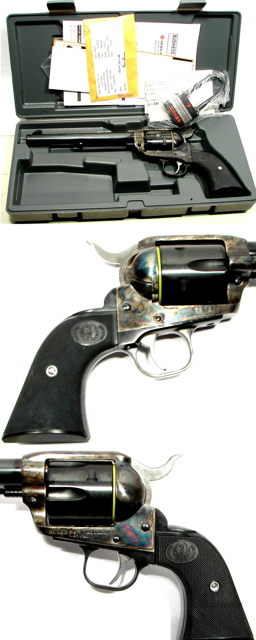 "Ruger Vaquero B/CC 7 1/2"" 45 Long Colt NICE  Guns > Pistols > Ruger Single Action Revolvers > Cowboy Action"