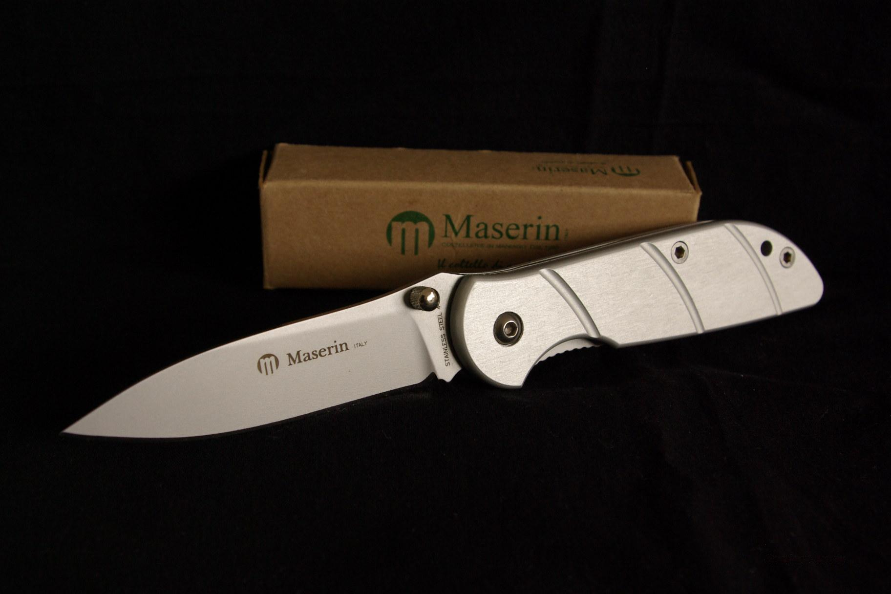 Maserin Knife Made In Italy For Sale