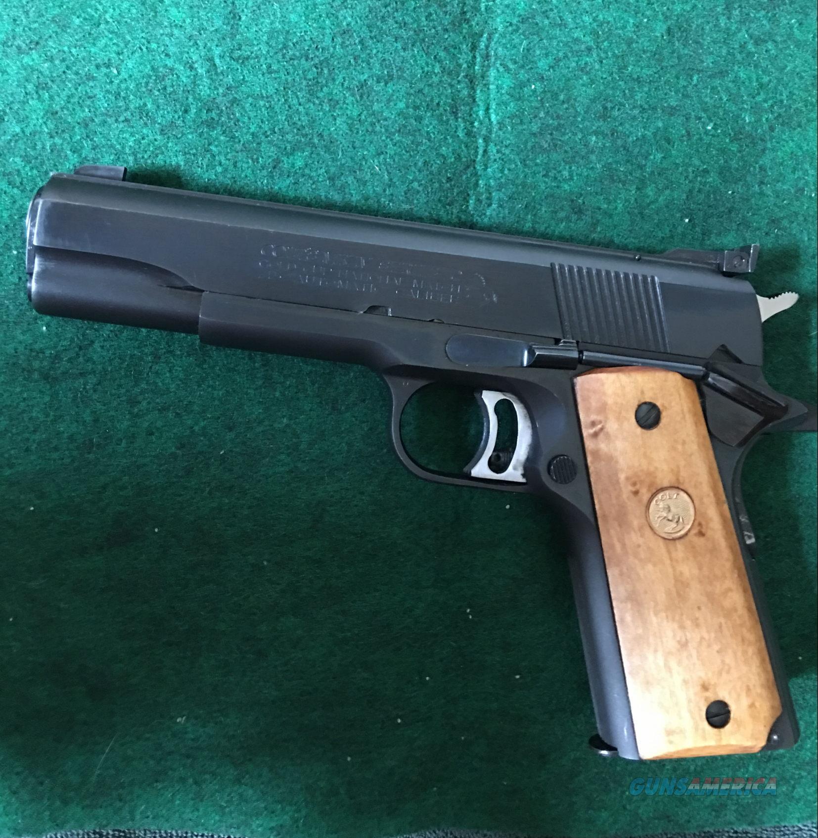 Colt Gold Cup Series 70 National Match  Guns > Pistols > Colt Automatic Pistols (1911 & Var)