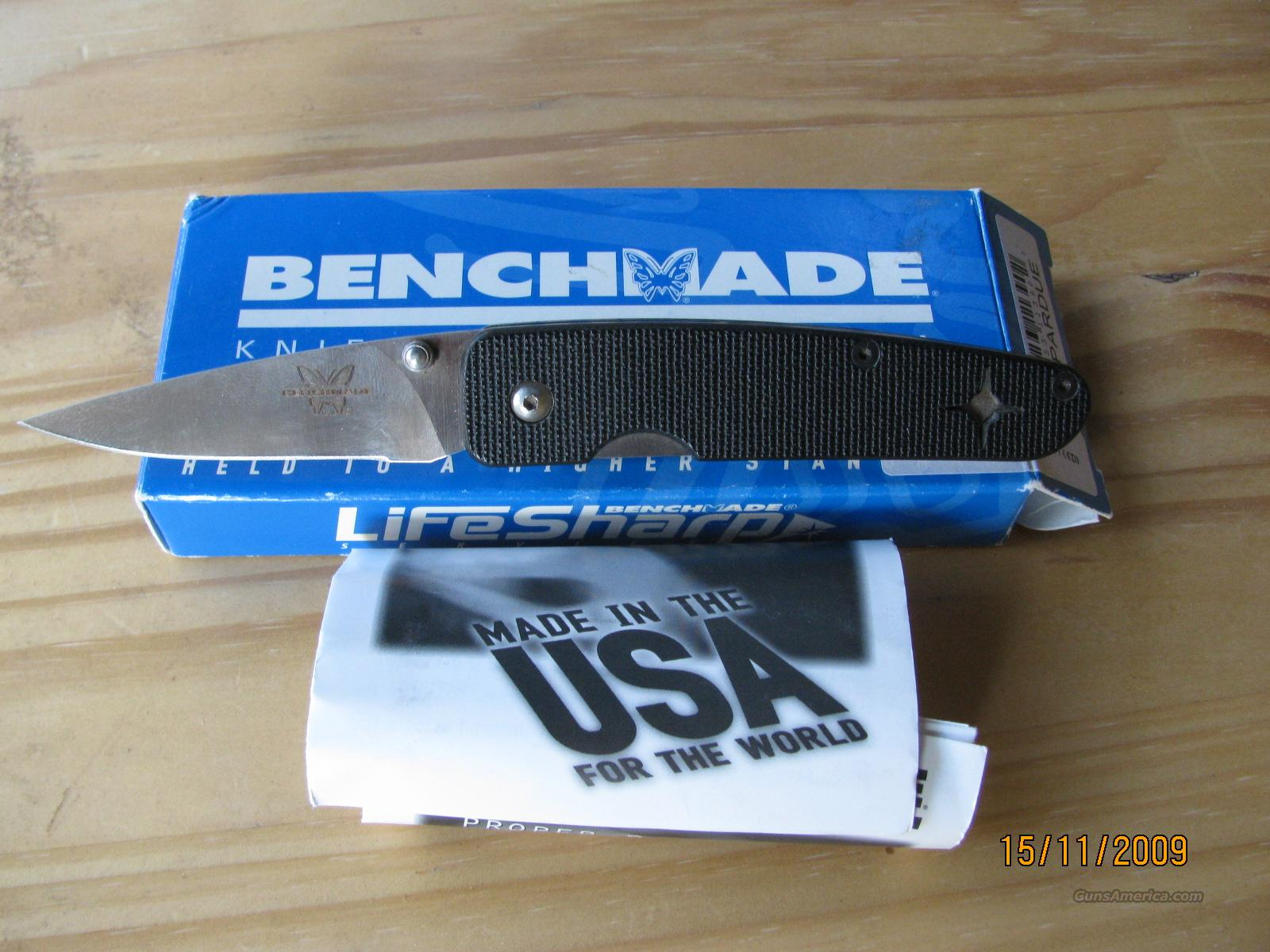 Benchmade Model 856 Mel Pardue  Non-Guns > Knives/Swords > Knives > Folding Blade > Hand Made