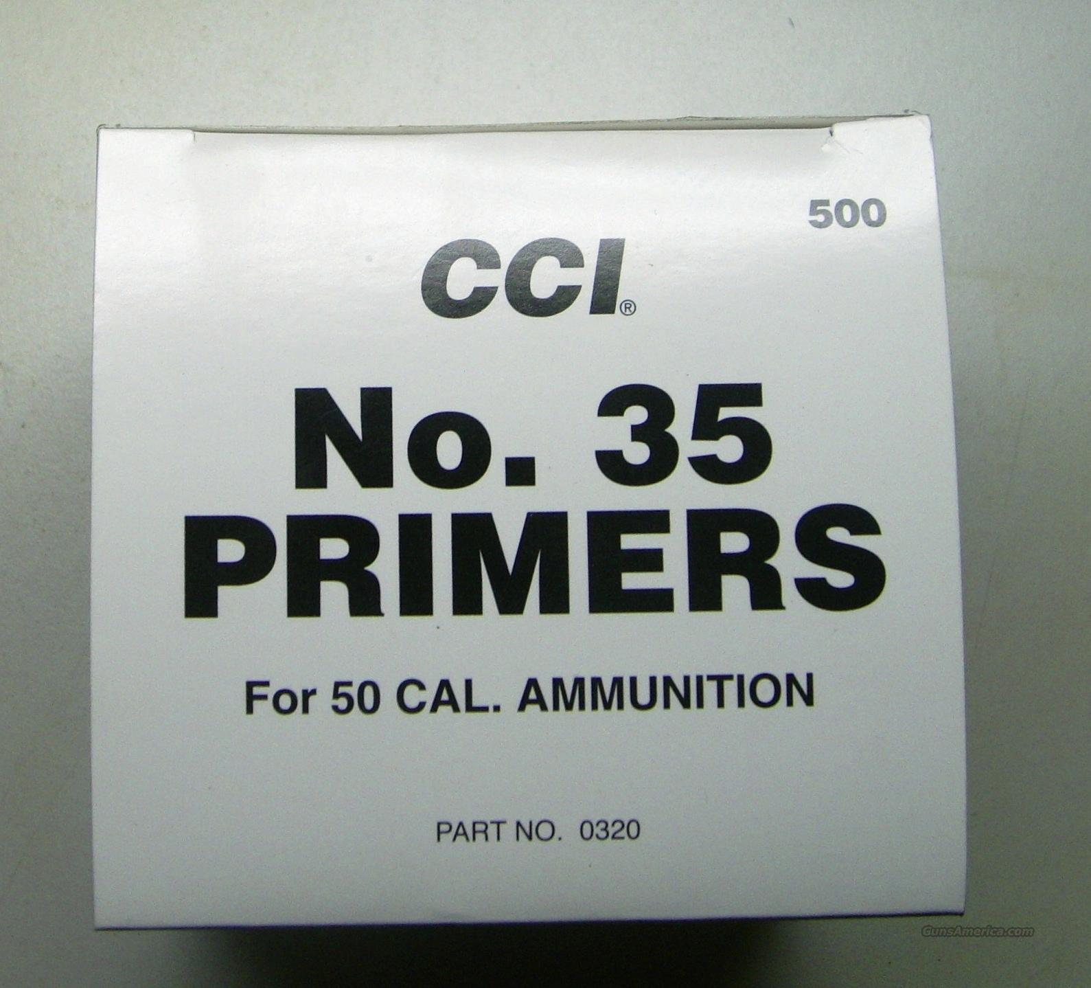 .50 CAL. PRIMERS - 500/BOX  Non-Guns > Reloading > Components > Other
