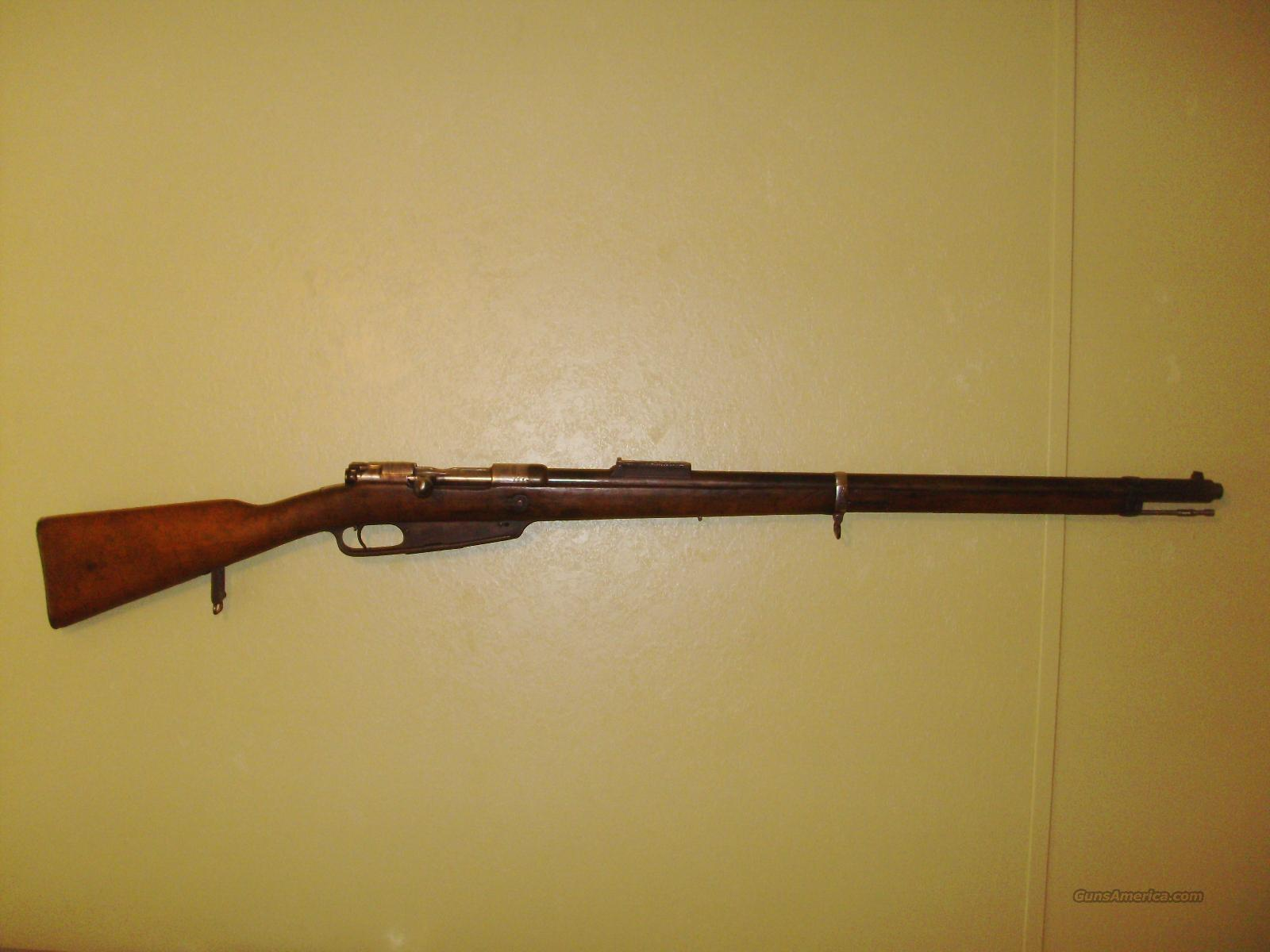 German 1891 commission 88  Guns > Rifles > Military Misc. Rifles Non-US > Other