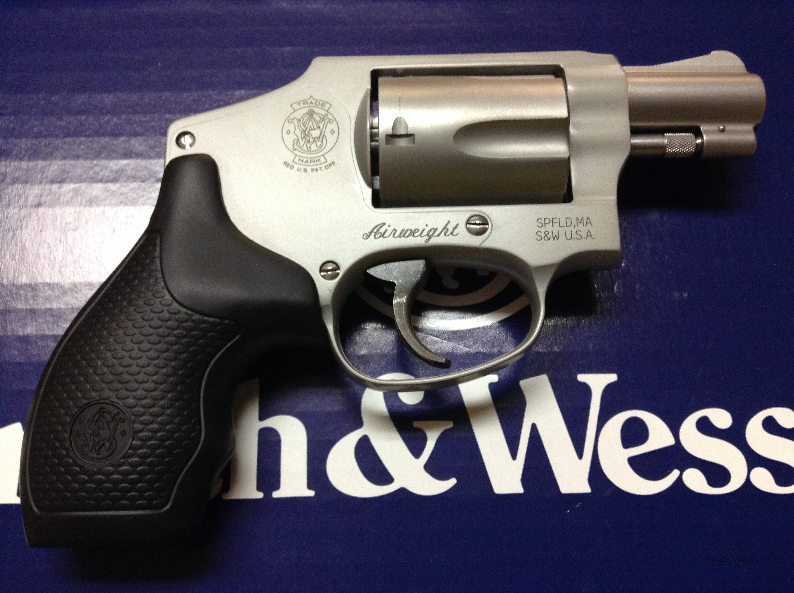 Smith & Wesson 642 38Spl +P Airweight  Guns > Pistols > Smith & Wesson Revolvers > Full Frame Revolver