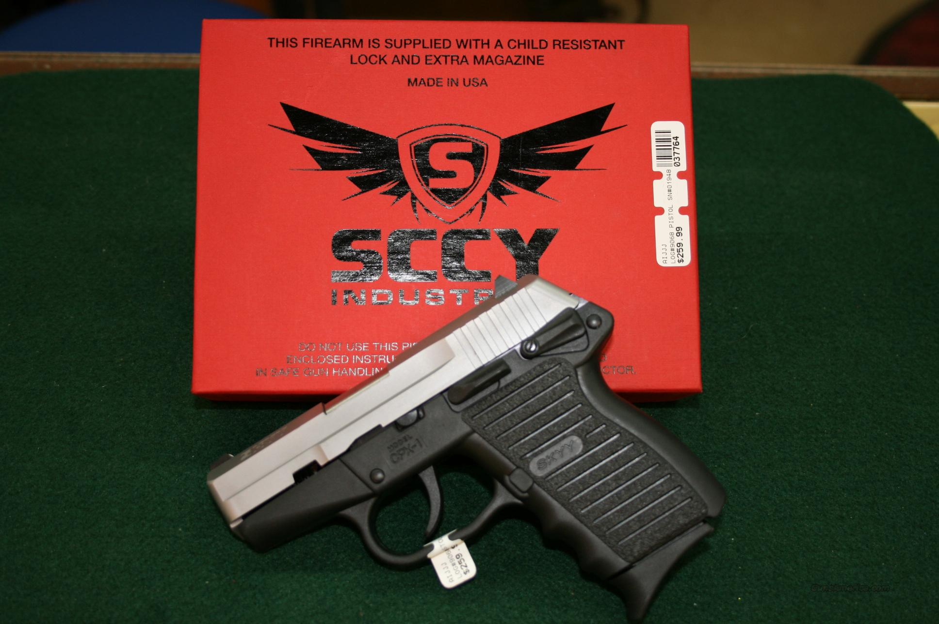 Skyy - Sccy Industries 9mm  Guns > Pistols > S Misc Pistols