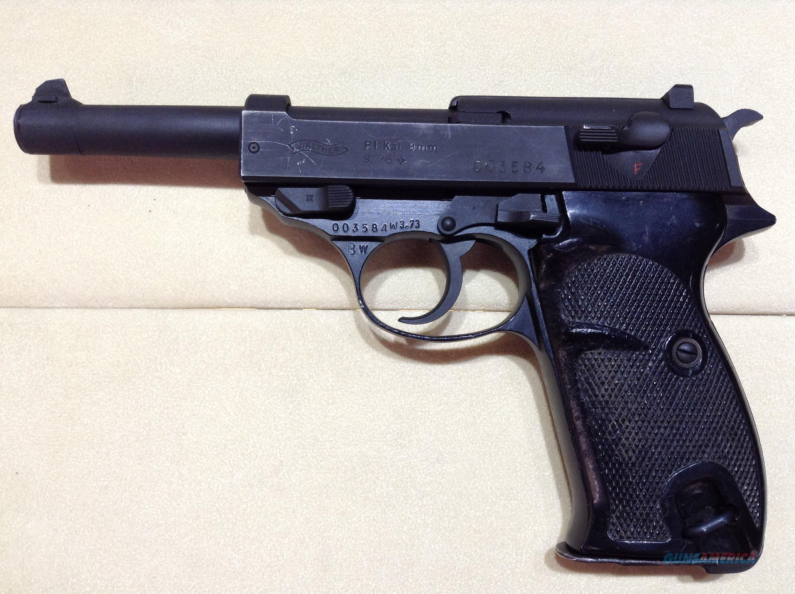 Walter P1 9mm w/4 Mags  Guns > Pistols > Walther Pistols > Post WWII > P38