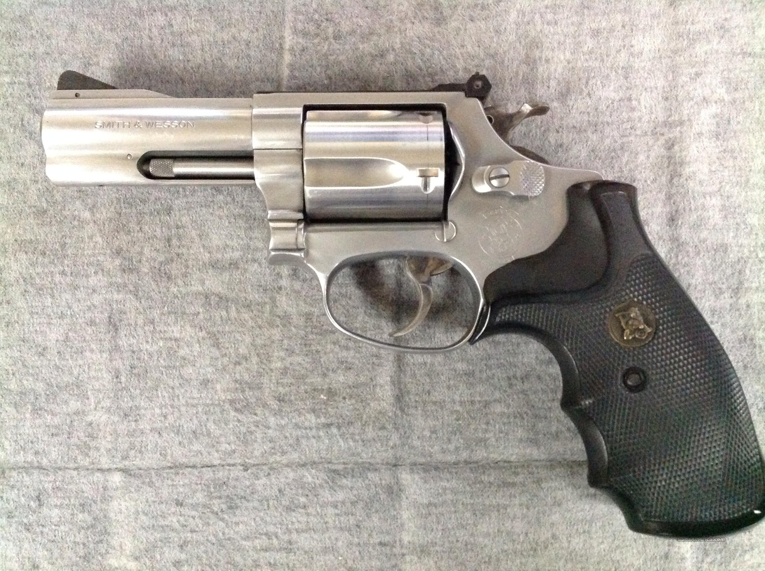 Smith & Wesson 60-4 38spl  Guns > Pistols > Smith & Wesson Revolvers > Full Frame Revolver