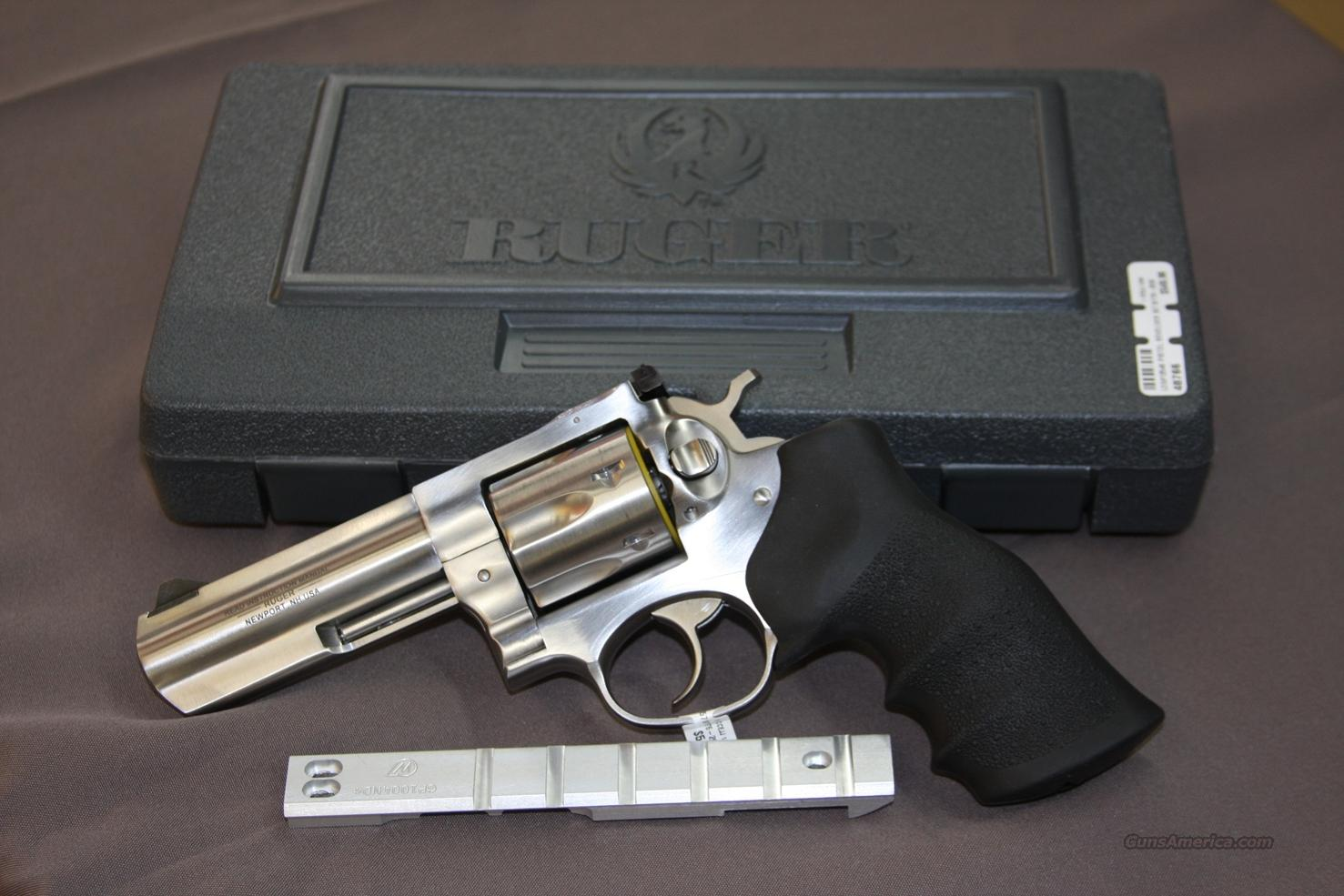 Ruger GP100 W/ Top Rail  Guns > Pistols > Ruger Double Action Revolver > Security Six Type