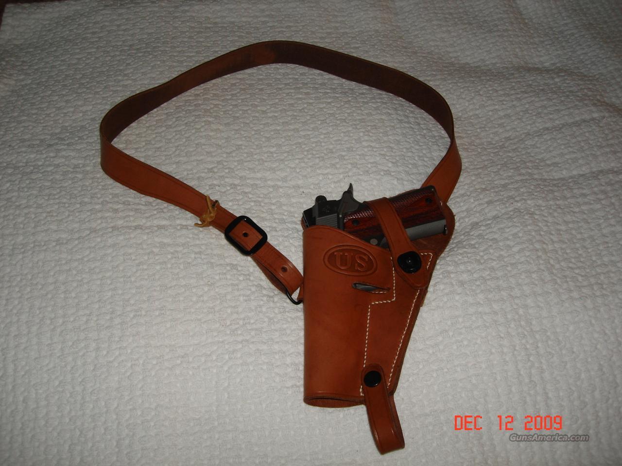 1911 Replica Tanker Shoulder Holster  LH  Non-Guns > Holsters and Gunleather > 1911