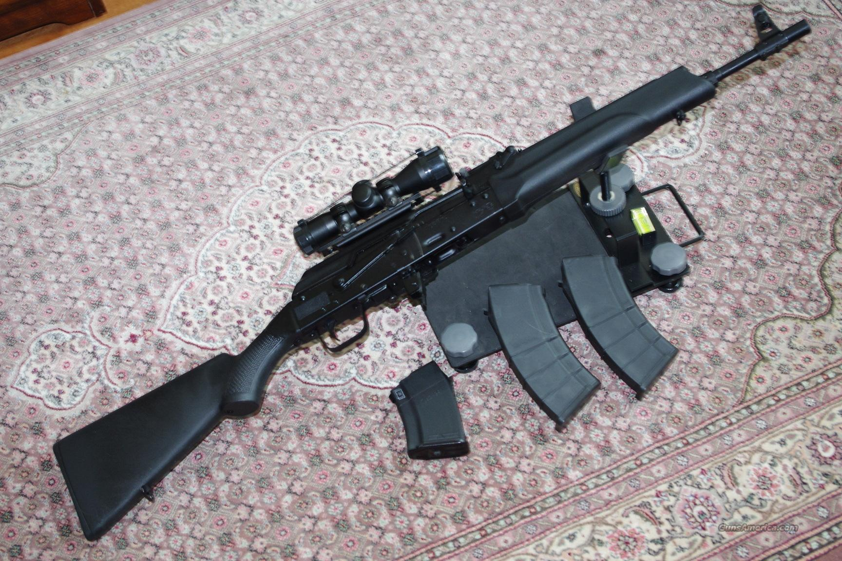 Saiga AK47 AK-47 IZ-132 Carbine 7.62x39 + 2-20 Rnd Mags & 4x30 Scope LNIB  Guns > Rifles > AK-47 Rifles (and copies) > Full Stock