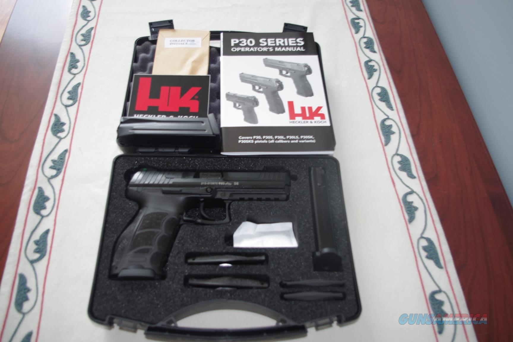 H&K P30L 9mm V3 Officer LE 6 Mags NS Package  Guns > Pistols > Heckler & Koch Pistols > Polymer Frame