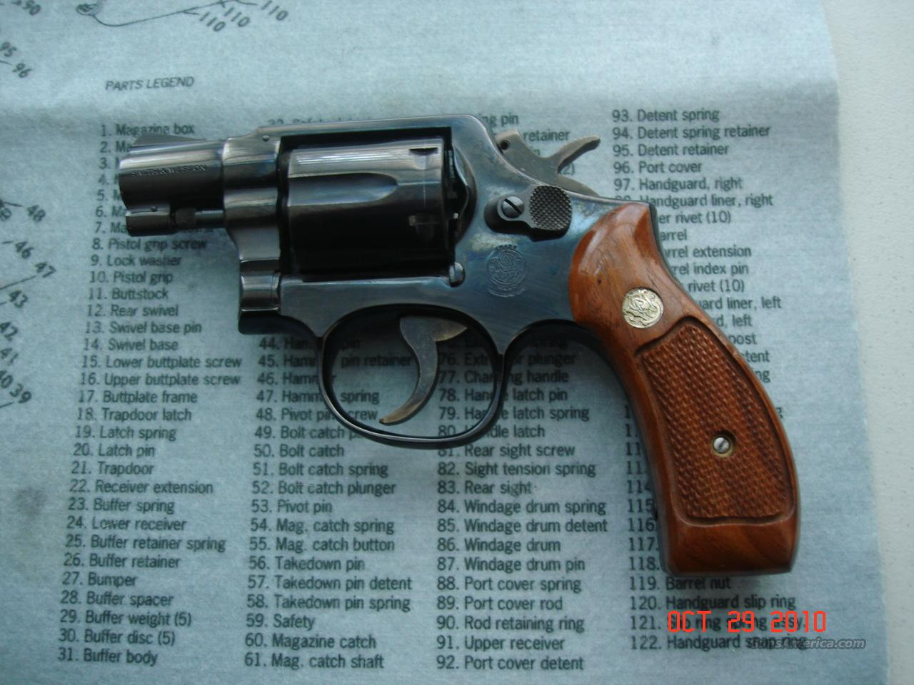 "S&W Model 10-7 38 Spcl 2"" Round Butt 99%  Guns > Pistols > Smith & Wesson Revolvers > Model 10"