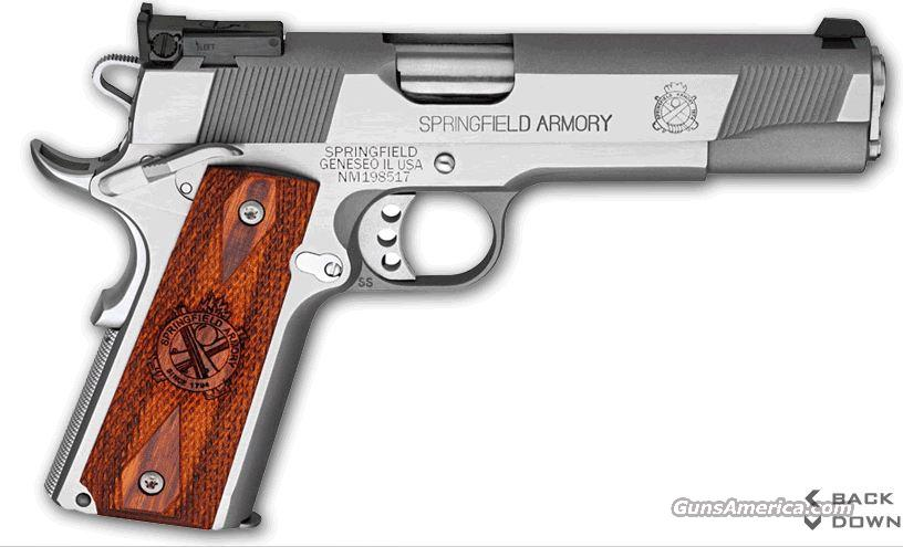 Springfield P19134LP 1911 9mm SS Target Loaded  Guns > Pistols > Springfield Armory Pistols > 1911 Type