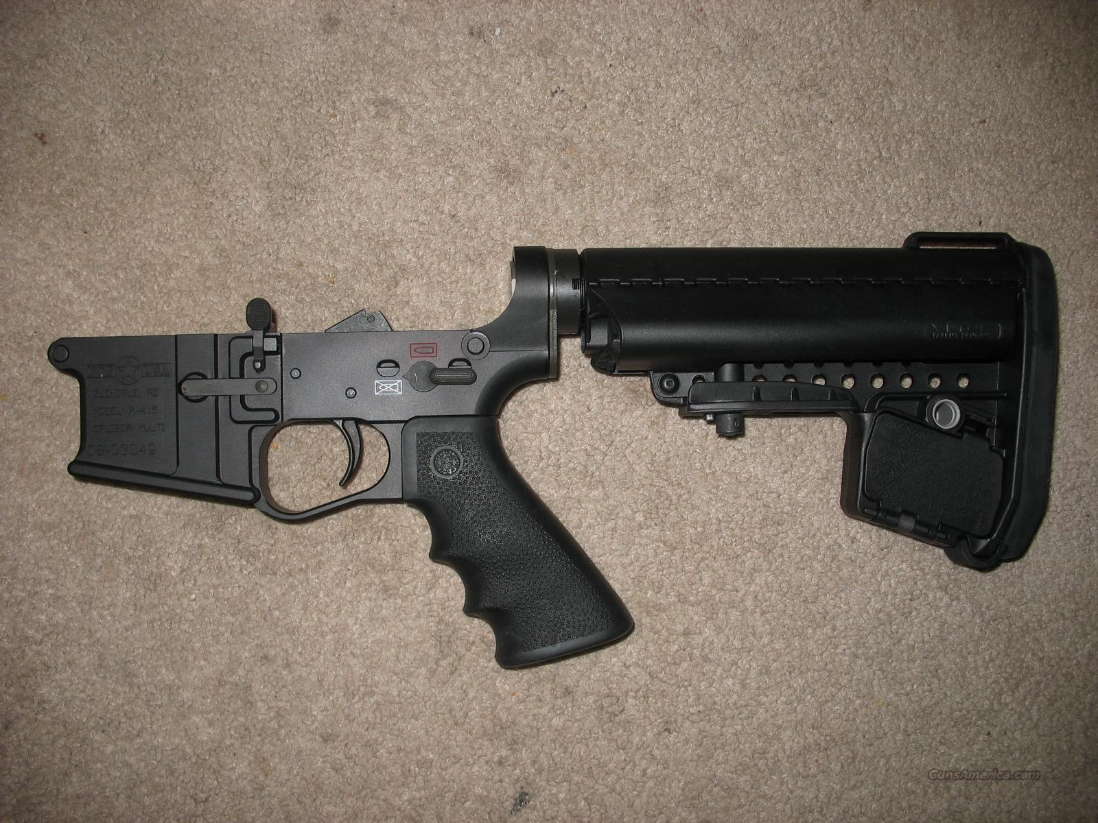 POF USA 415 lower, Bushmaster comp. trigger, Vltor stock, hogue grip   Guns > Rifles > AR-15 Rifles - Small Manufacturers > Lower Only