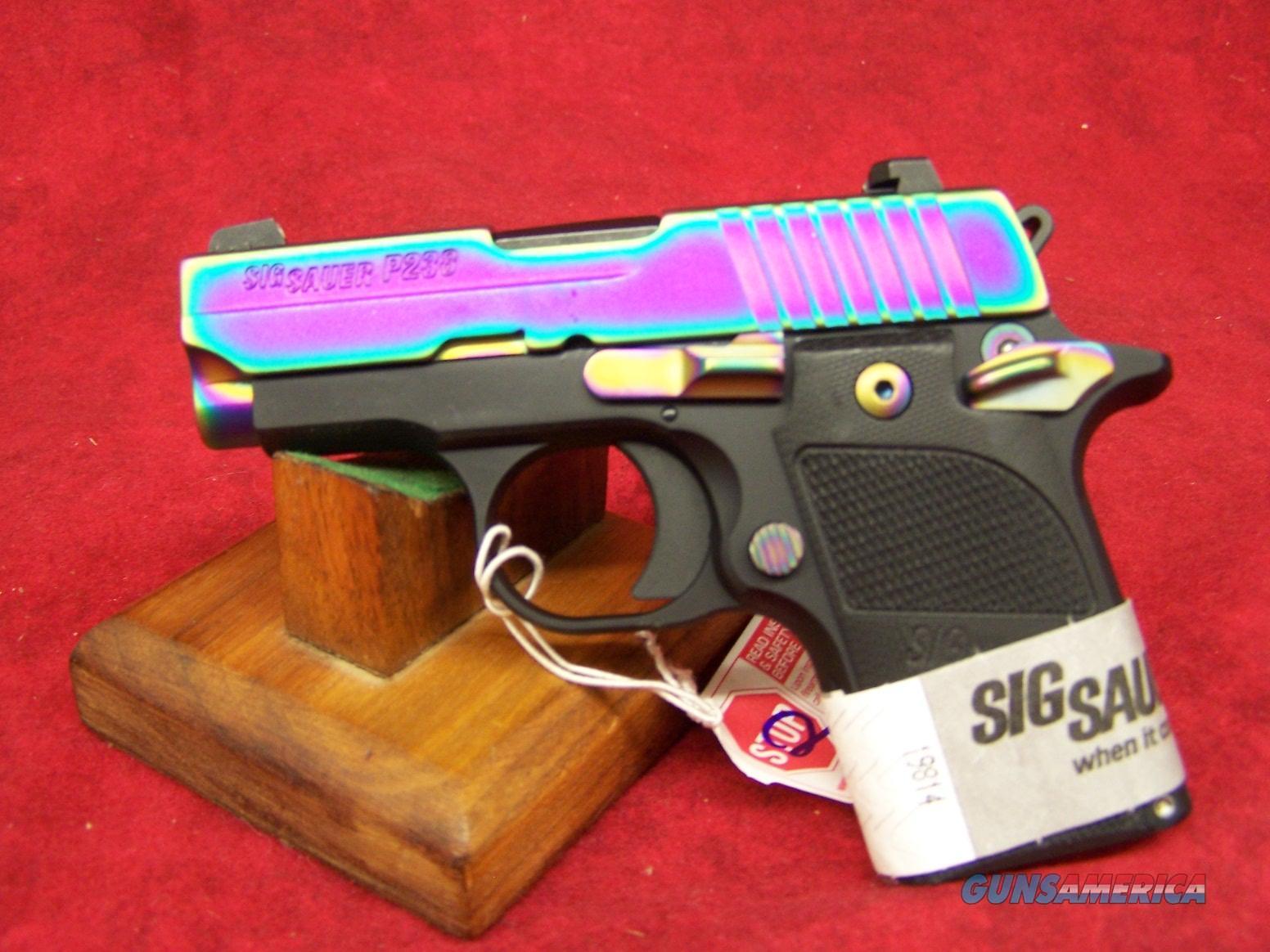 NEW LOW PRICE!! Sig Sauer 238-380-EDGE P238 Edge Pistol .380 ACP 2.72in 6rd Rainbow G10  Guns > Pistols > Sig - Sauer/Sigarms Pistols > P238