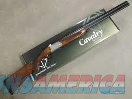 ATI Cavalry Over/Under SVE 12GA Shotgun (Ejector) ATIGKOF12SVE  Guns > Shotguns > American Tactical Import
