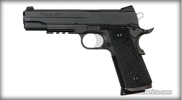 "NEW LOW PRICE!! Sig Sauer 1911 TACOPS 5"" with 4 magazines & night sights 45ACP 1911R-45-TACOPS NIB  Guns > Pistols > Sig - Sauer/Sigarms Pistols > 1911"