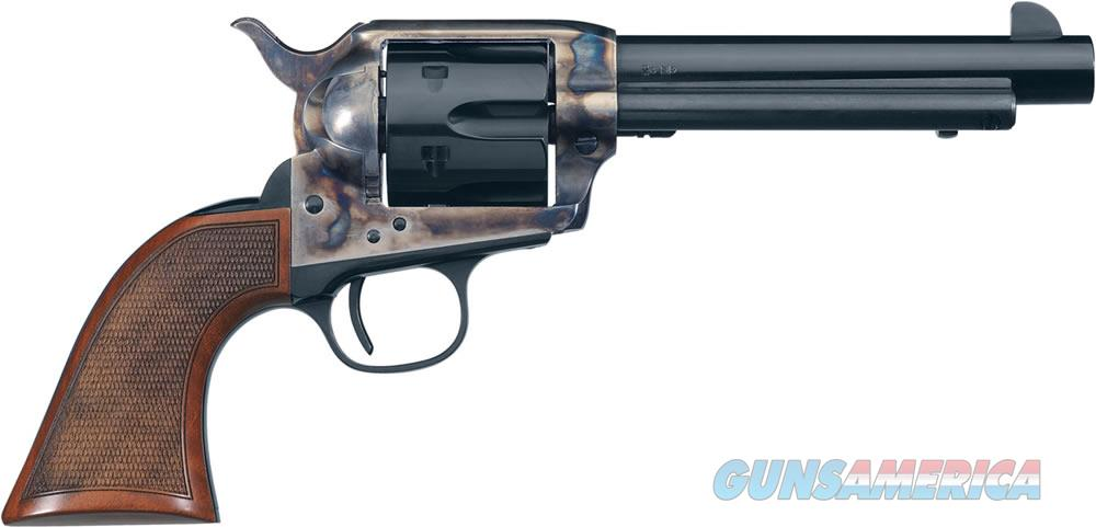 "Uberti 1873 Cattleman El Patron Revolver U345072, .357 Magnum, 5 ½"", Checkered Walnut Grip, Blued Case-Hardened Frame  Guns > Pistols > Uberti Pistols > Ctg."