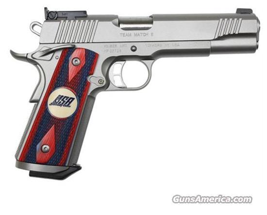 Kimber US TEAM MATCH II 45ACP 3200142 32142 NIB NEW xxxxxxx perfect combination: tight slide & slick trigger xxxxxxx   Guns > Pistols > Kimber of America Pistols