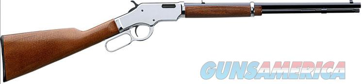 Uberti Silverboy Lever Action Rifle 342350, .22 LR, 19 in, Walnut Stock, Chrome Receiver/Blue Barrel Finish, 15 Rd  Guns > Rifles > Uberti Rifles > Lever Action