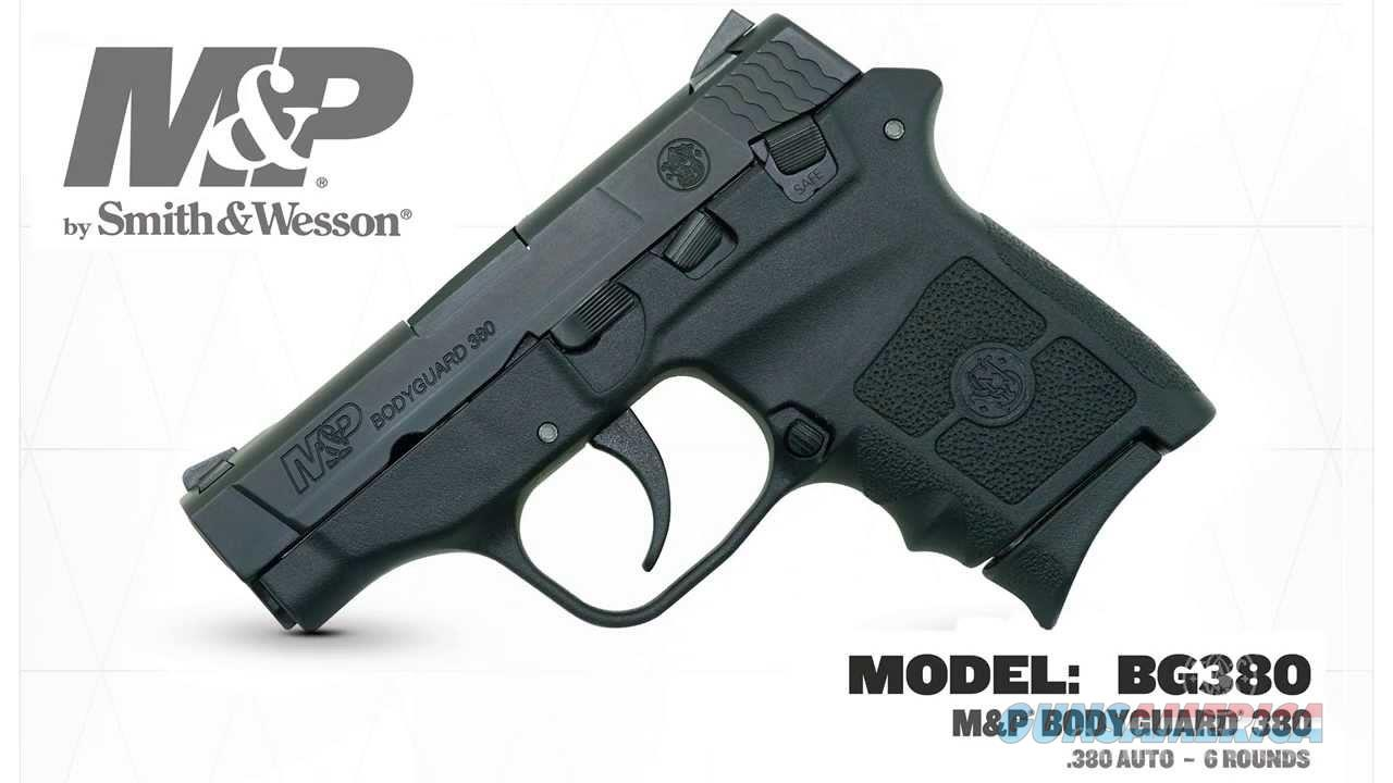 SMITH & WESSON M&P BODYGUARD 109381  Guns > Pistols > Smith & Wesson Pistols - Autos > Polymer Frame