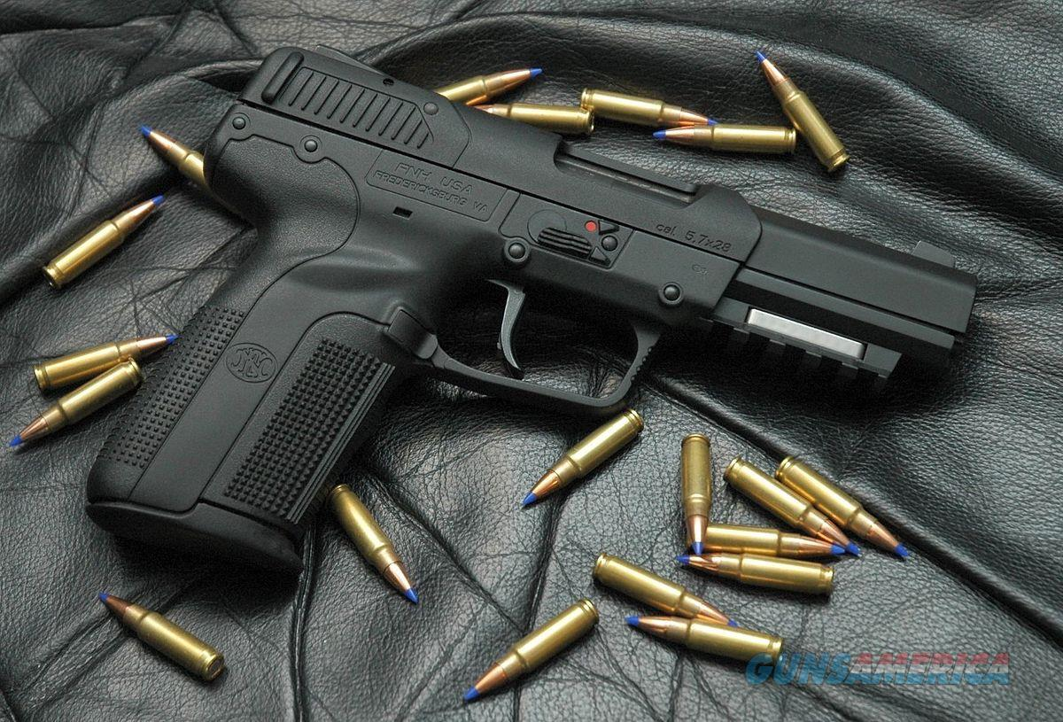"FNH 5.7X28 BLACK 20RDS 4.8""  Guns > Pistols > FNH - Fabrique Nationale (FN) Pistols > FiveSeven"