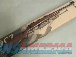 CZ-USA CZ455 Rifle 02101, 22 Long Rifle, 20.6 in, Walnut Stock, Blue Finish  Guns > Rifles > CZ Rifles