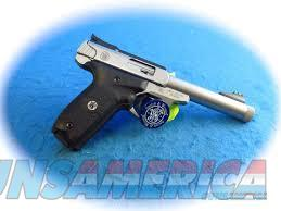 Smith & Wesson 10201 SW22 Victory Pistol .22 LR 5.5in Threaded 10rd Two Tone  Guns > Pistols > Smith & Wesson Pistols - Autos > .22 Autos