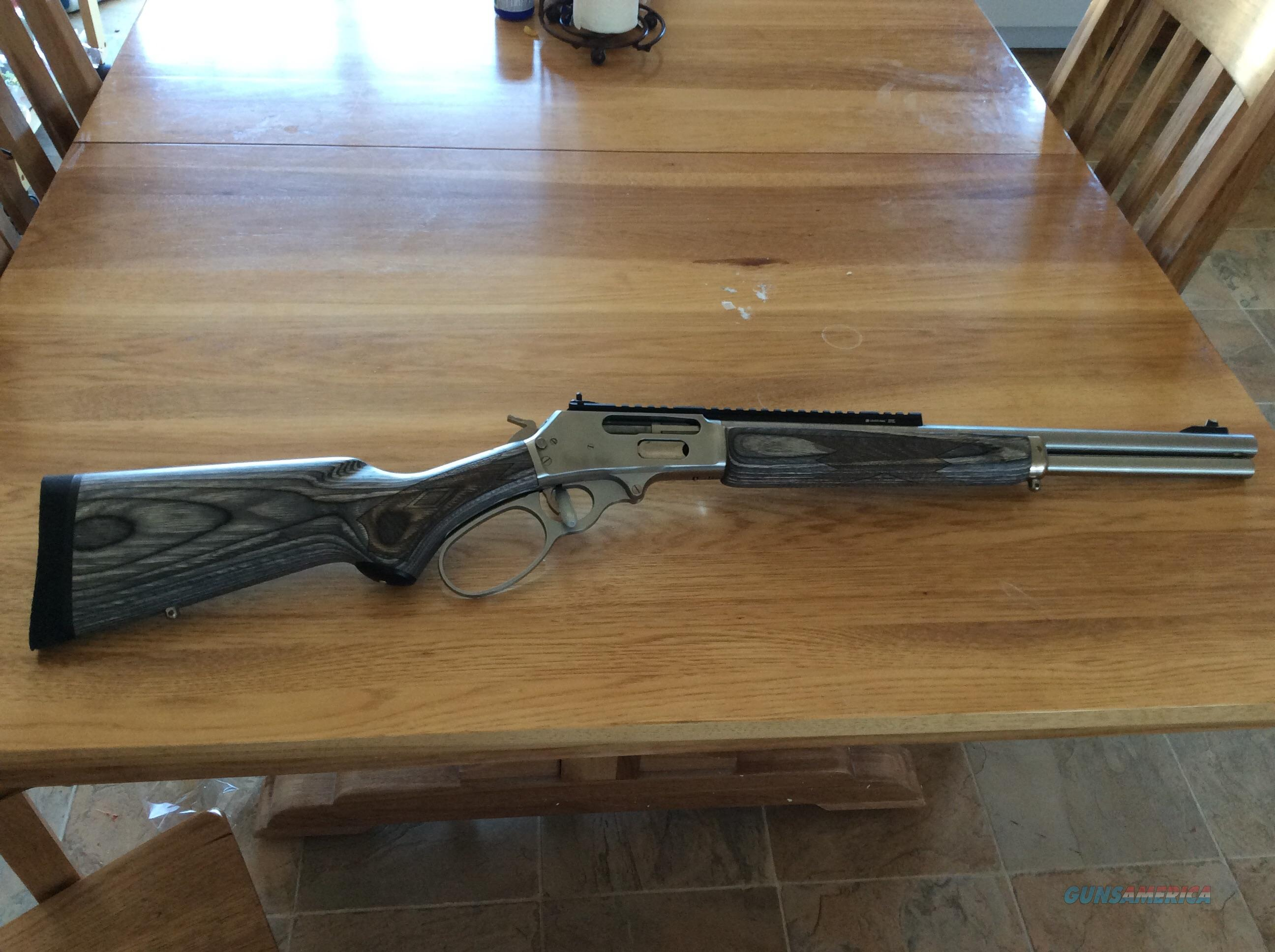 Marlin 45-70 SS Big Loop Laminate  Guns > Rifles > Marlin Rifles > Modern > Lever Action