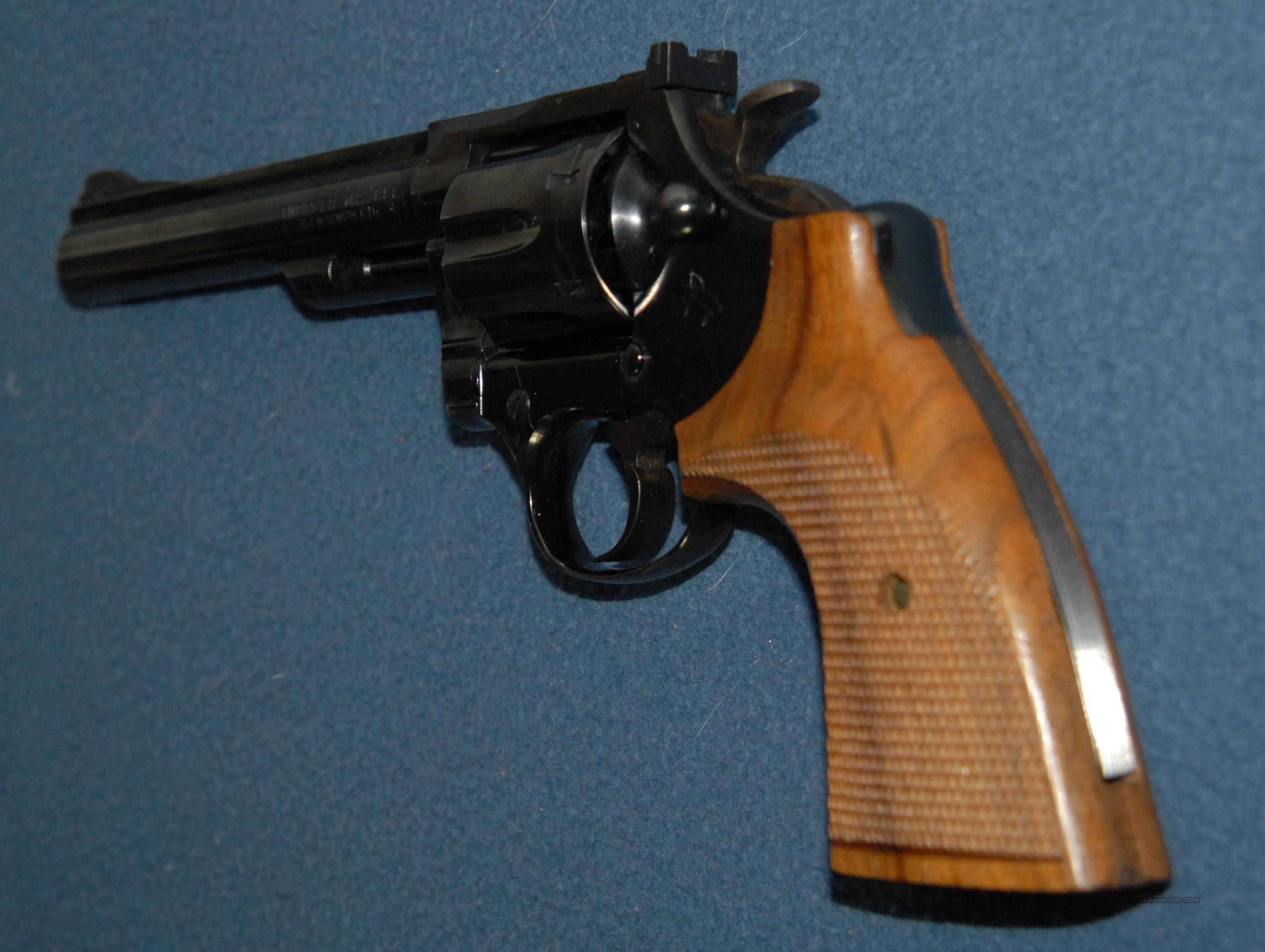 "Colt Trooper MK III 6"" Blued  Guns > Pistols > Colt Double Action Revolvers- Modern"