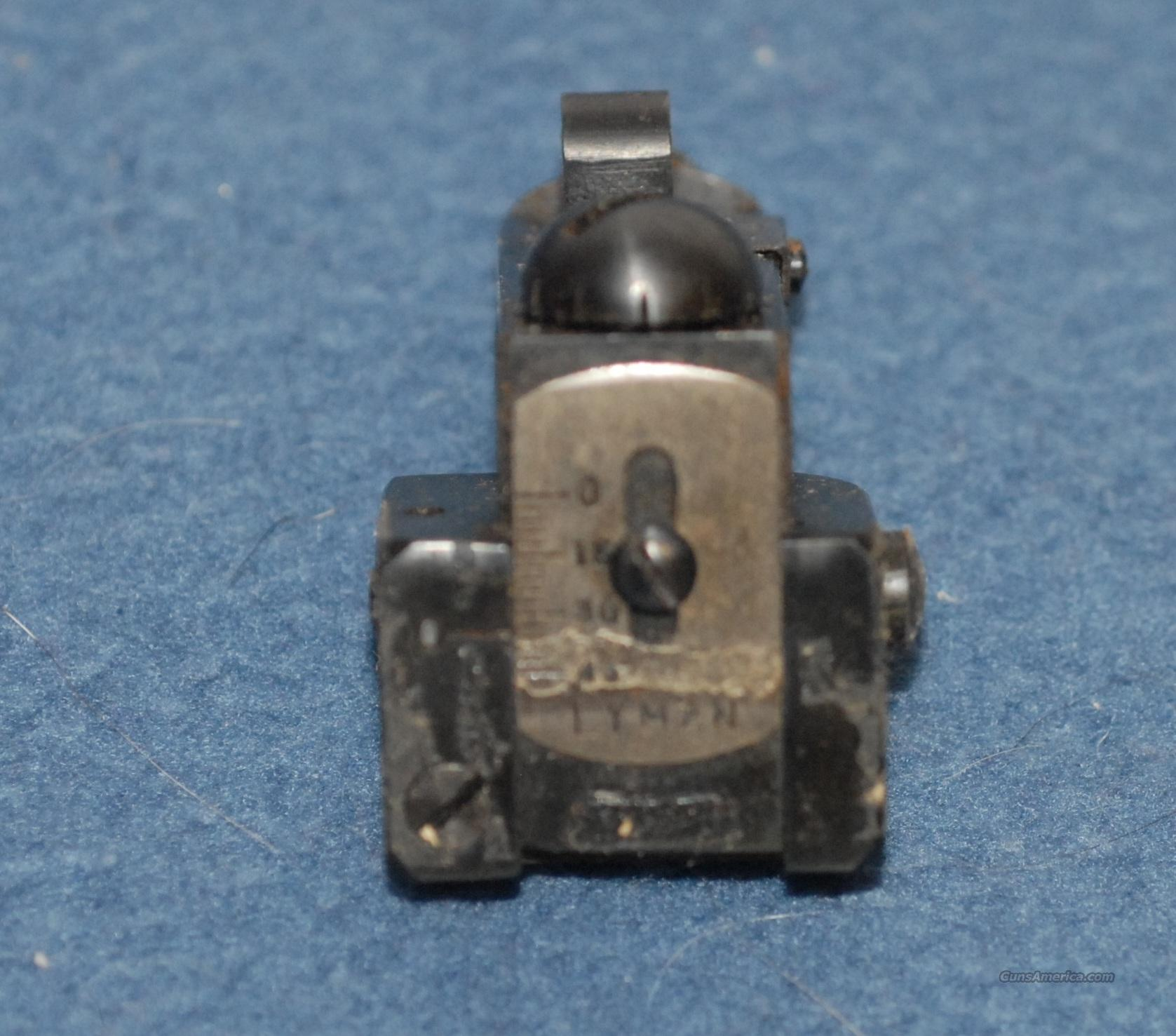 Lyman 57 K - Rear Aperture Sight for Krag  Non-Guns > Iron/Metal/Peep Sights