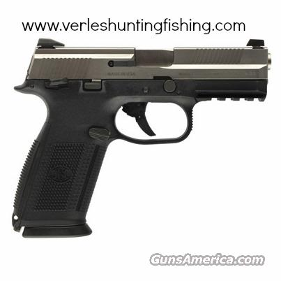 FNH 66923 FNS-40 .40 S&W Pistol with Stainless Slide, 3-dot Sights, 3 14rd Magazines  Guns > Pistols > FNH - Fabrique Nationale (FN) Pistols > High Power Type