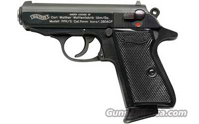 "WALTHER PPK/S 380ACP 7RD BL 3.3""  Guns > Pistols > Walther Pistols > Post WWII > PPK Series"