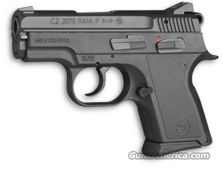 CZ 2075 RAMI P 9MM (DISCONTINUED!! GET IT WHILE YOU CAN)  Guns > Pistols > CZ (Ceska ZBrojovka) Pistols