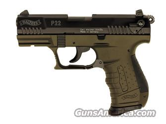 Walther P22 Military Auto OD GREEN  Guns > Pistols > Walther Pistols > Post WWII > P22